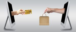 ecommerce illustration with cash